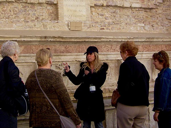 Authentic Experiences Umbria Tour guide