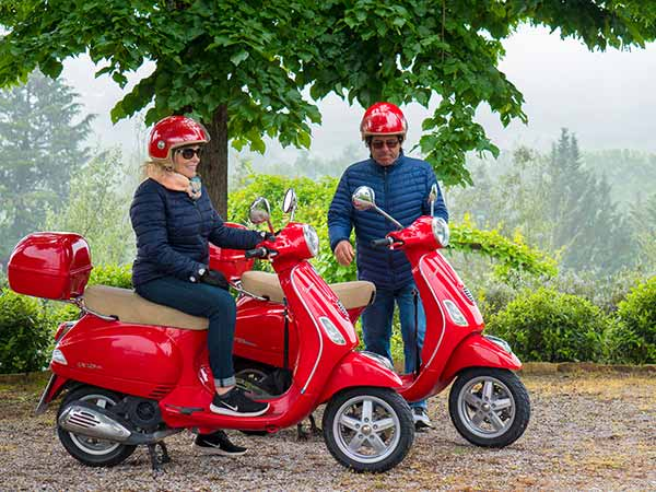 Authentic Experiences Umbria Vespa Rental